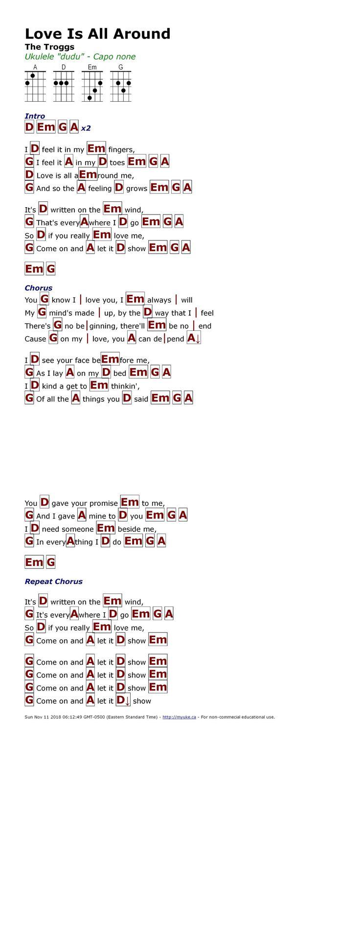Pin by Sabrina Mayzak on Uke Ukulele chords songs