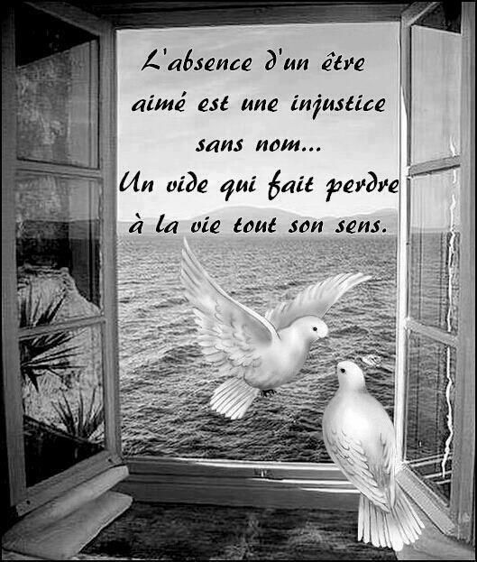L'absence...