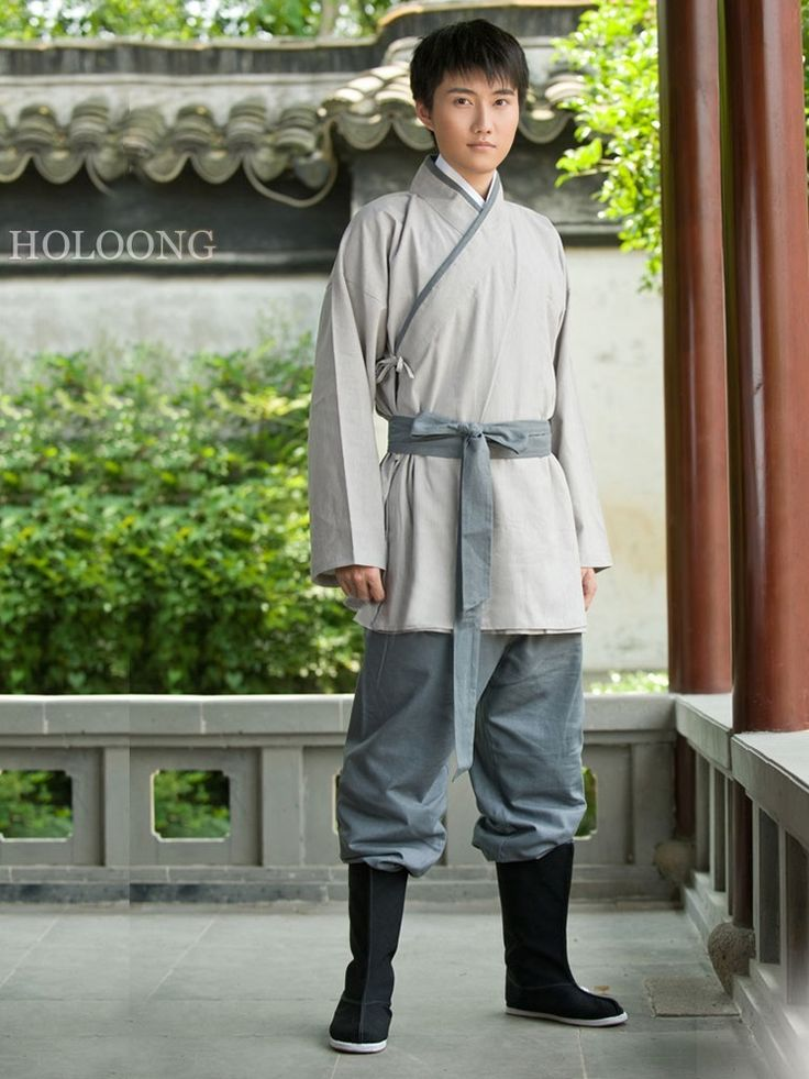 Cotton Ancient Chinese Costumes Curved hem dress Quju Han Dynasty Hanfu Womens Clothing - US $118.00