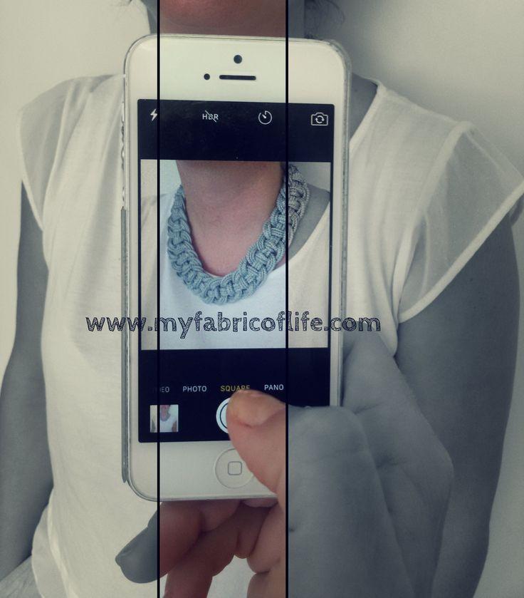 MY FABRIC OF LIFE|  'Phaidra' in cotton & silk button. #myfabricoflife #fall15 #collection #designs #fashion #handmadewithlove