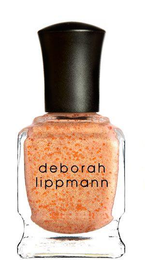 MILLION DOLLAR MERMAID - new! tangerine twinkle (glittered shimmer) // Deborah Lippmann