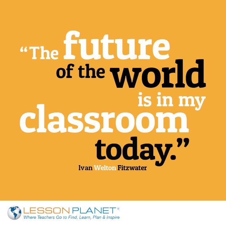 A look at a future teachers classroom