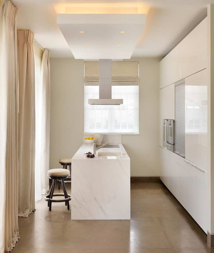 Cozinha em um espaço pequeno