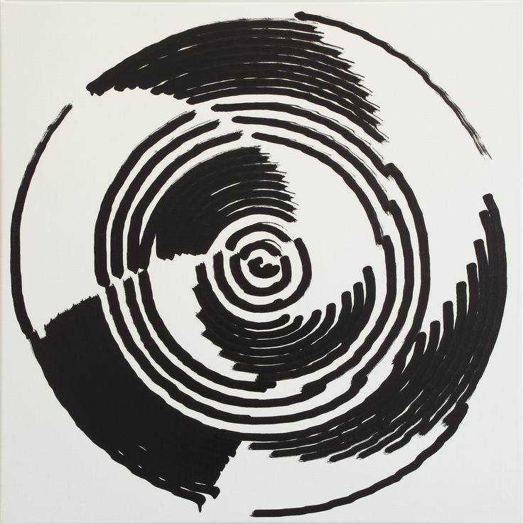 Simon Ingram, No 25, 6 Oct, 2014, sum 1057.559, Oil on Linen, 850 x 850mm
