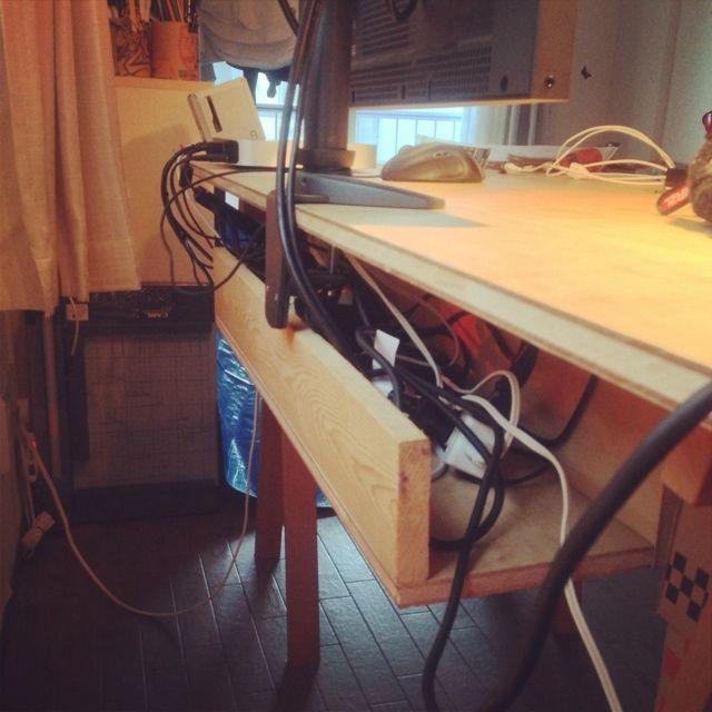 PCデスク周り/DIY…などのインテリア実例 - 2013-09-29 08:00:39 | RoomClip(ルームクリップ)