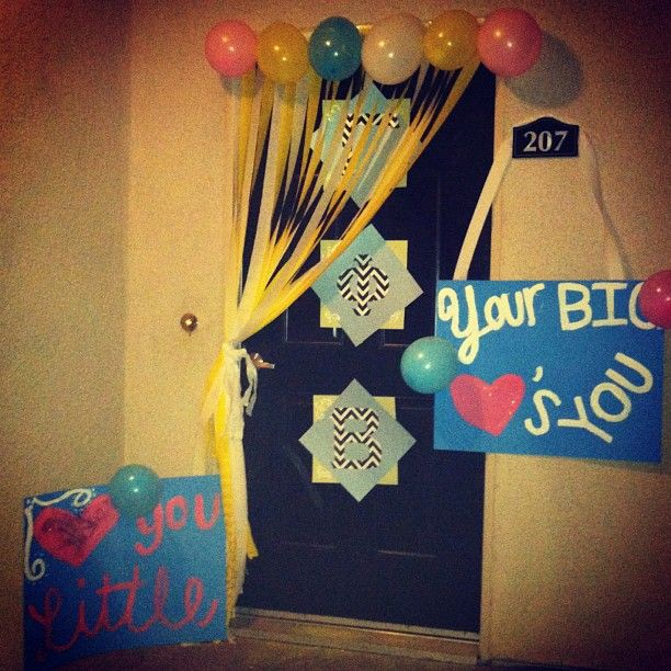 Gamma Phi door surprise