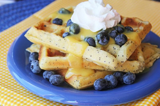 Today is National Waffle Day, which is a pretty great thing, right? I brought along a recipe to share with you for Lemon Poppy Seed Waffles with Lemon Butter Cream Syrup. Just in case a few of you ...