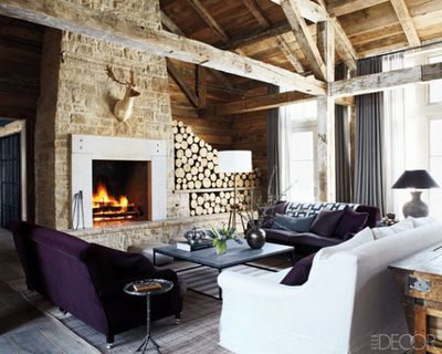118 best images about chalets on pinterest zermatt chalet chic and fireplaces - Decoratie cottage montagn e ...