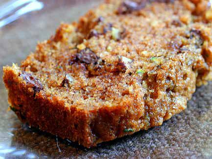 Zucchini Bread is the best snack...or breakfast..or dessert ;)