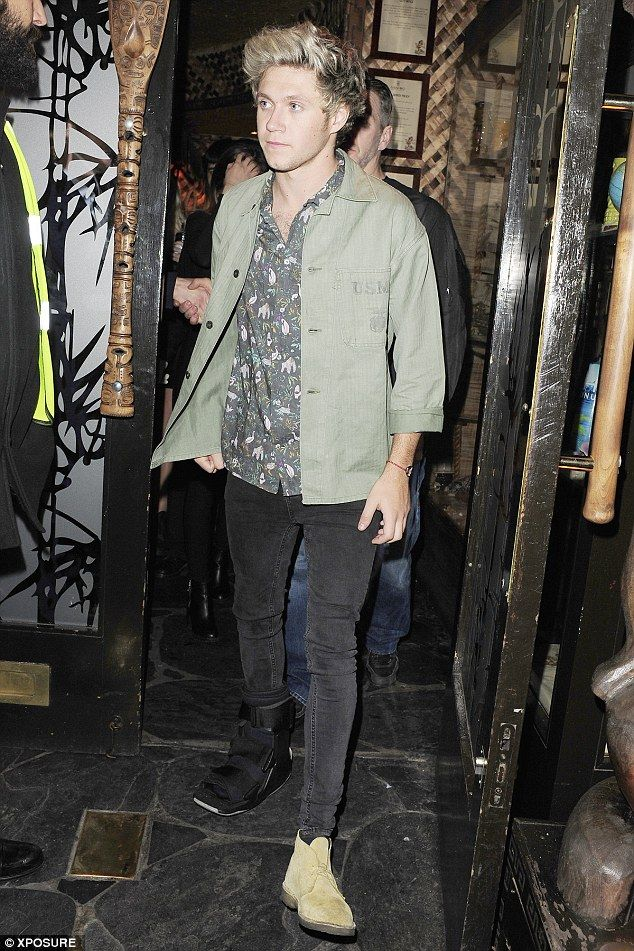 Niall Horan parties in London
