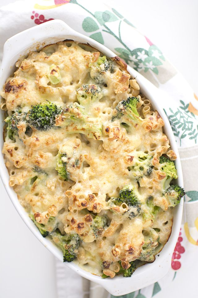 Mac'n'cheese med broccoli