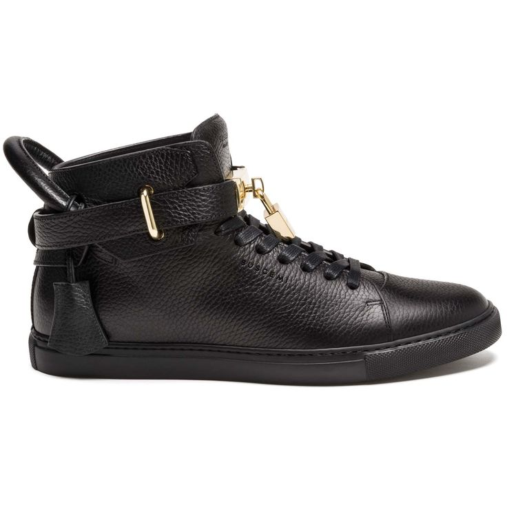 Buscemi Woman Studded Leather Sneakers Black Size 36 Buscemi BjSWbx589C