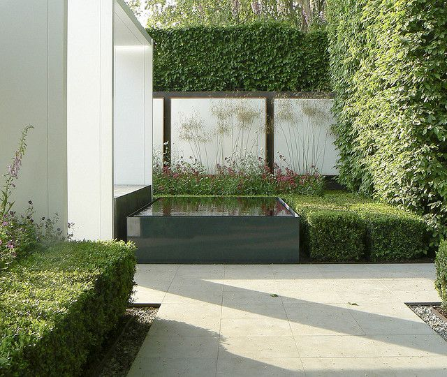 Chelsea Flower Show 2008 - The Savills Garden. Contemporary garden design. Pinned to Garden Design by Darin Bradbury.