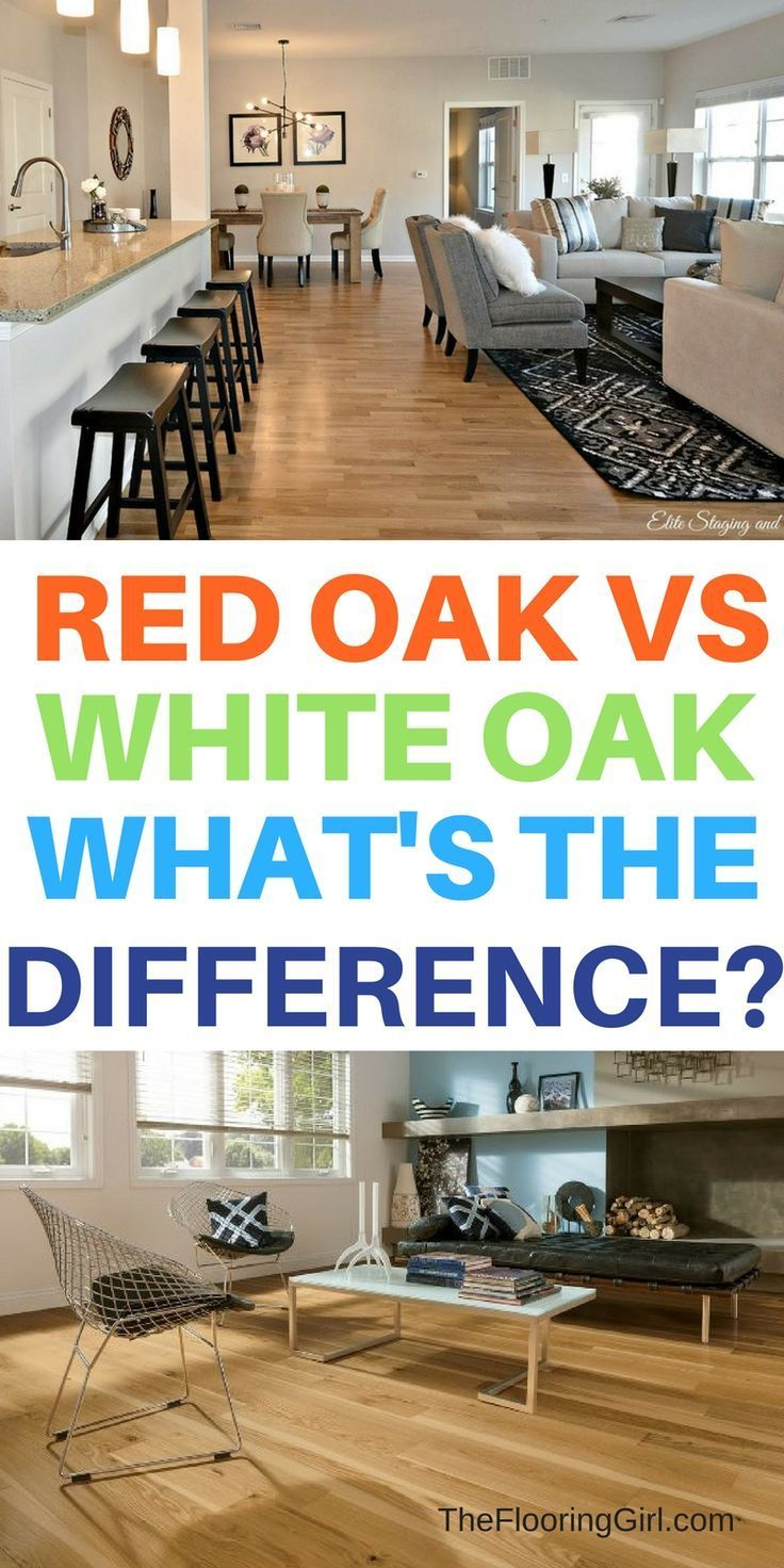 Red oak vs white oak what's the difference