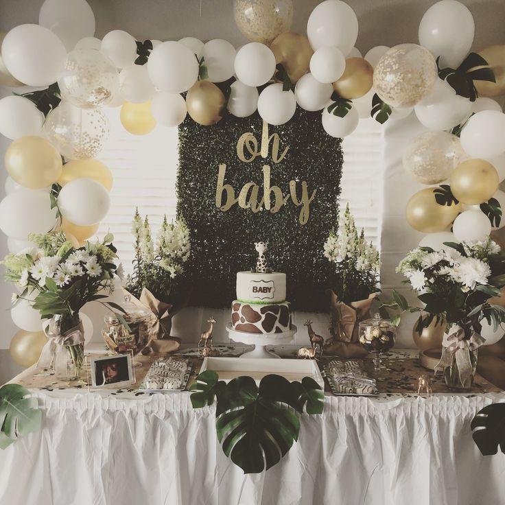 Jungle Theme Baby Shower ⭐️ Jungle Babyshower Baby