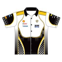 Pro Pit Crew Racing Shirt | Sublimated Racing Apparel | Captivations Sportswear | Custom sportswear and apparel supplier