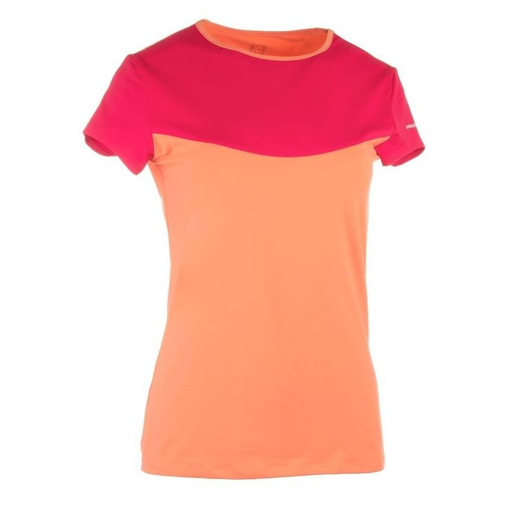Check out our New Product  Soft womens tennis badminton table tennis squash padel t shirt in orange and pink COD Made for racket sports tennis, badminton, table tennis, padel, squash in warm weather.This sports T shirt has been designed with a soft and lightweight fabric. Choose your favourite colour T shirt and create your own outfit by pairing it with shorts or skirts with a shorty.  ₹574