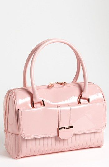 Ted Baker London 'Enamel' Quilted Bowler Bag | Nordstrom