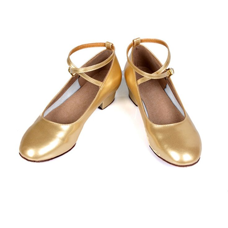 Free Shipping Gold  Latin Dance Shoes For Girls Woman Salsa Ballroom Dancing Shoes Zapatos De Baile Latino Mujer WZJ #CLICK! #clothing, #shoes, #jewelry, #women, #men, #hats, #watches