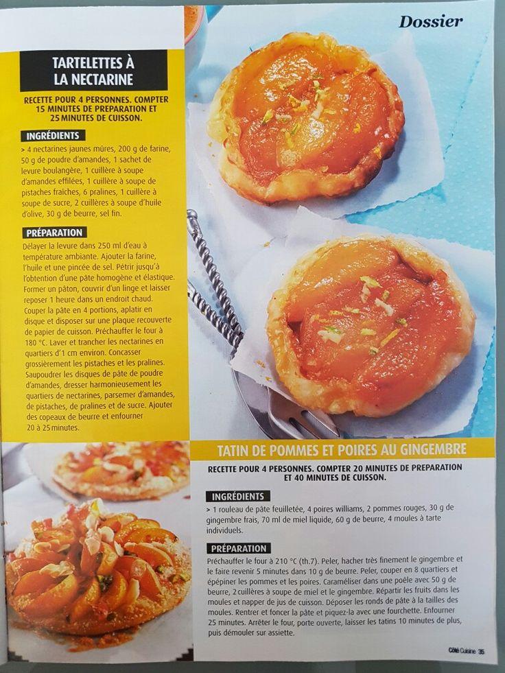 45 best Côté Cuisine : Spécial Tartes Sucrées et Salées images on ...