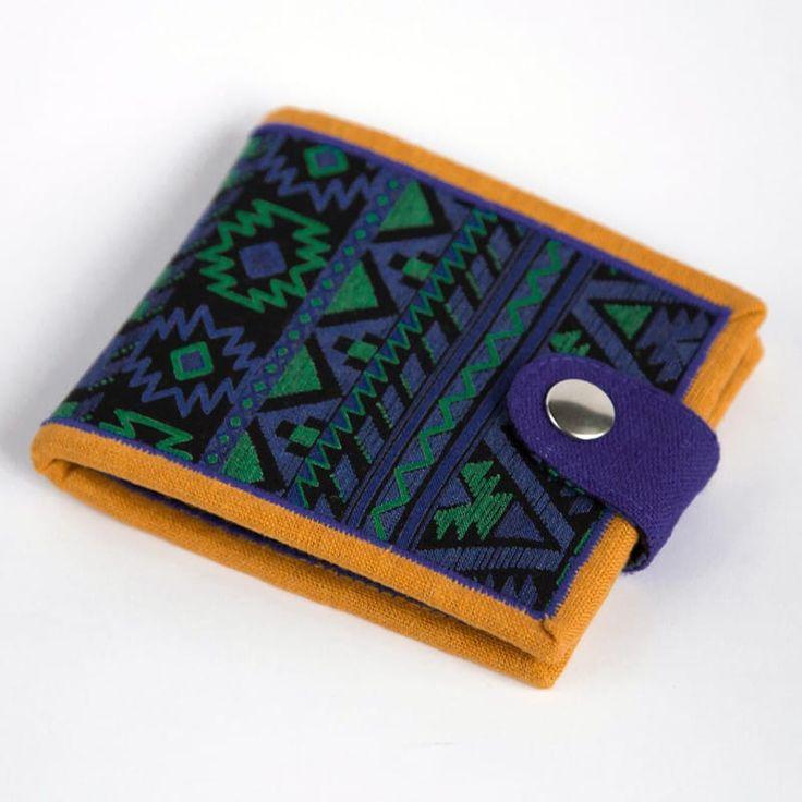 Handmade мужской кошелек Yak Faino Tunisian Motives