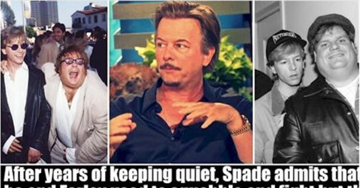 The Heartbreaking Reason David Spade Refused To Go To Chris Farley's Funeral