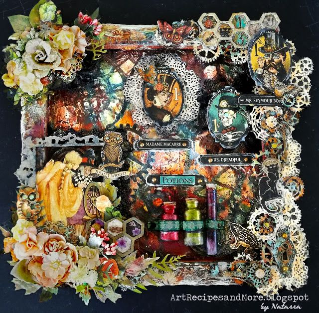 Art Recipes and More: Totally Wicked - #G45DarkSide October Challenge