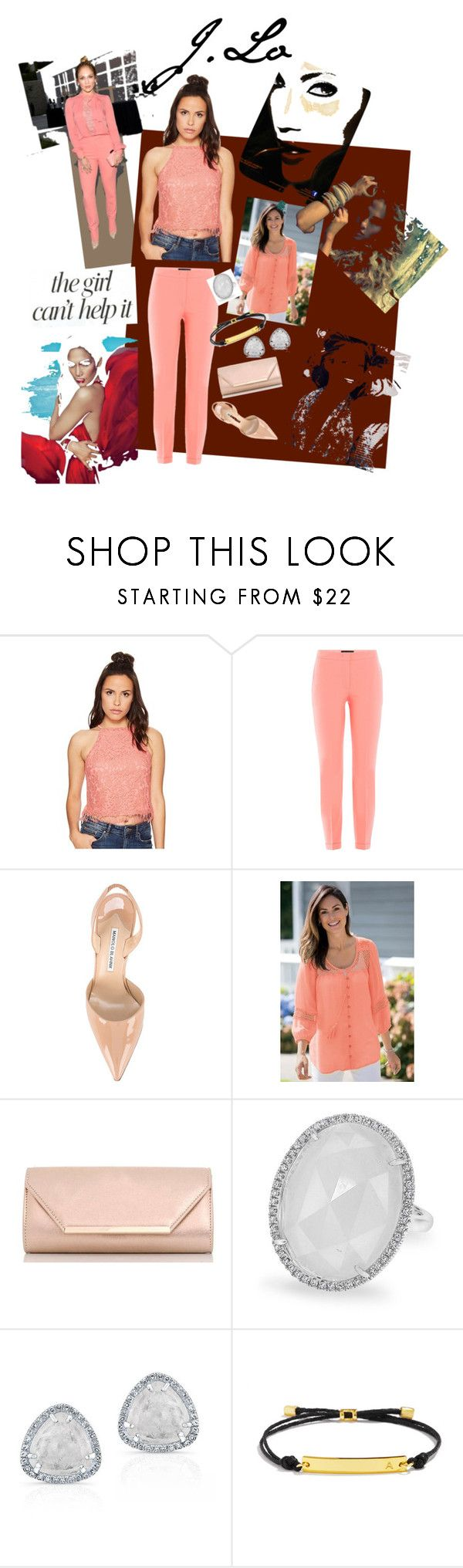 """""""J. Lo Driven"""" by mb-magic-styles ❤ liked on Polyvore featuring Jennifer Lopez, Bishop + Young, Piazza Sempione, Manolo Blahnik, Dorothy Perkins, BaubleBar and JLo by Jennifer Lopez"""
