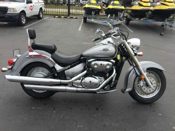 2006 Suzuki Boulevard C50 | Grey, Silver 2006 Suzuki Cruiser Motorcycle in Clearwater FL | 3888020819 | Used Motorcycles on Oodle Marketplace