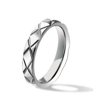 マトラッセ ウェディングリング ラージモデル - CHANEL(シャネル)の結婚指輪(マリッジリング)