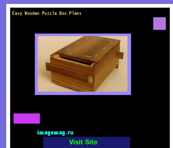 Easy Wooden Puzzle Box Plans 184747 - The Best Image Search