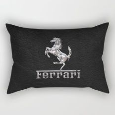 metal horse Rectangular Pillow