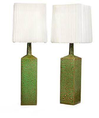 Table lamps (pair) by Le Klint
