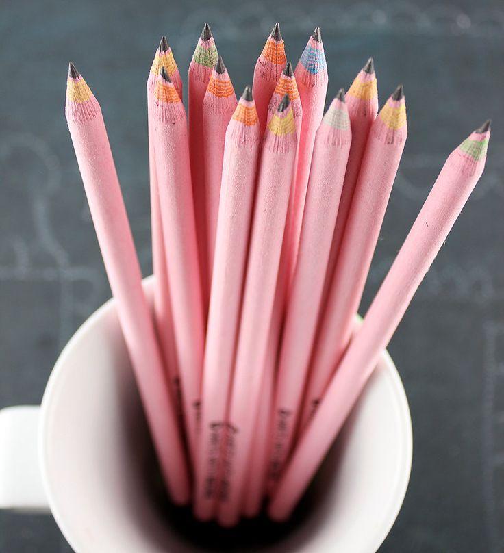 Pink pencils. #designlovefest