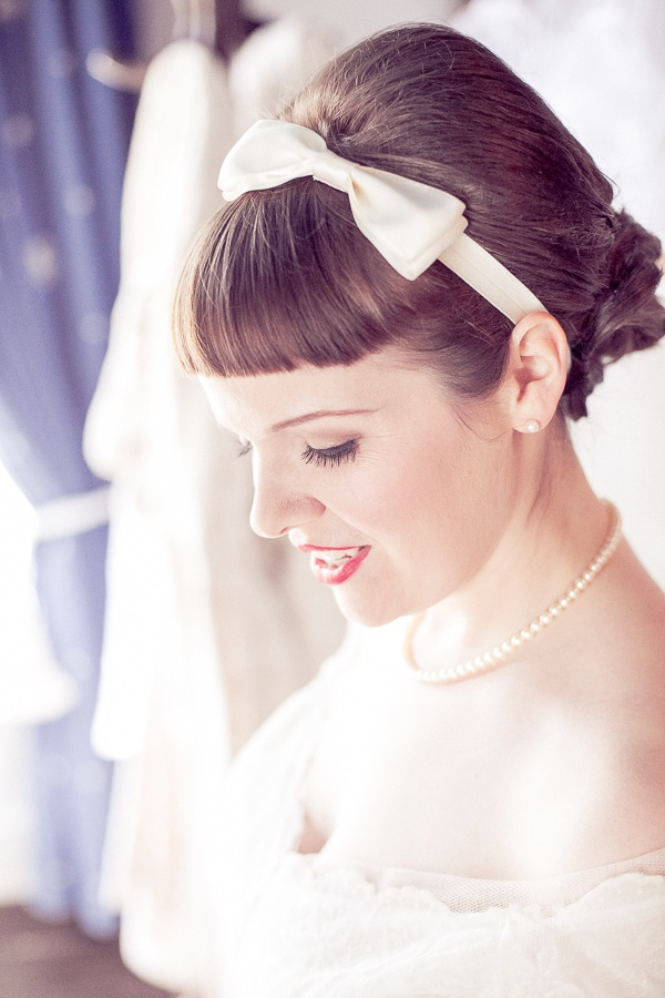 vintage hair bows ideas
