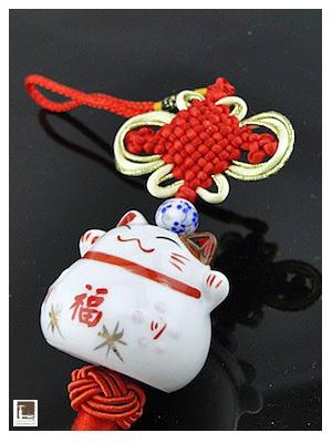 Maneki Neko porte-bonheur - Cadeaux d'Asie