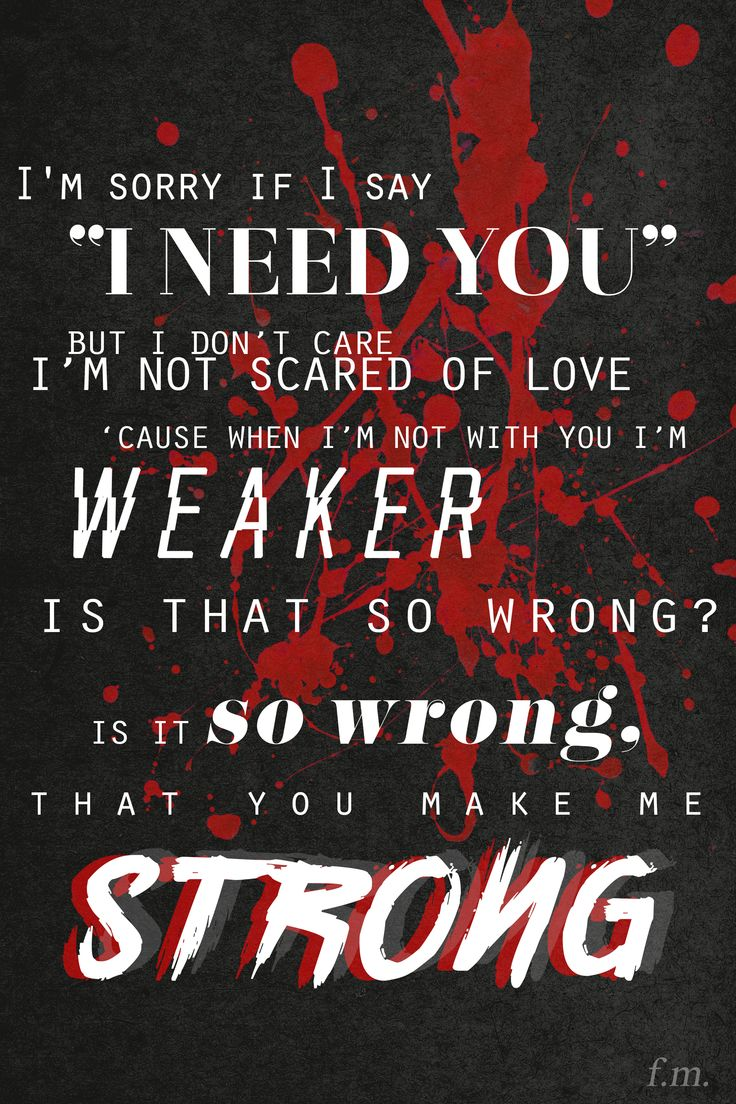 Strong -- Midnight Memories (One Direction, 2013)