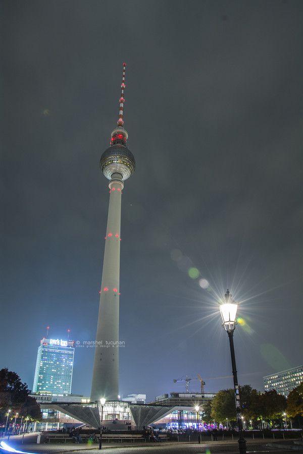 The Fernsehturm (Berlin, Germany) by Marshel Tucunan on 500px
