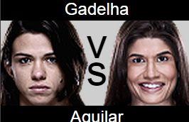 UFC 190 Jessica Aguilar vs Claudia Gadelha Prediction