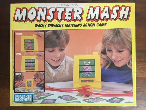 Hey, I found this really awesome Etsy listing at https://www.etsy.com/listing/586757743/monster-mash-game-complete-parker
