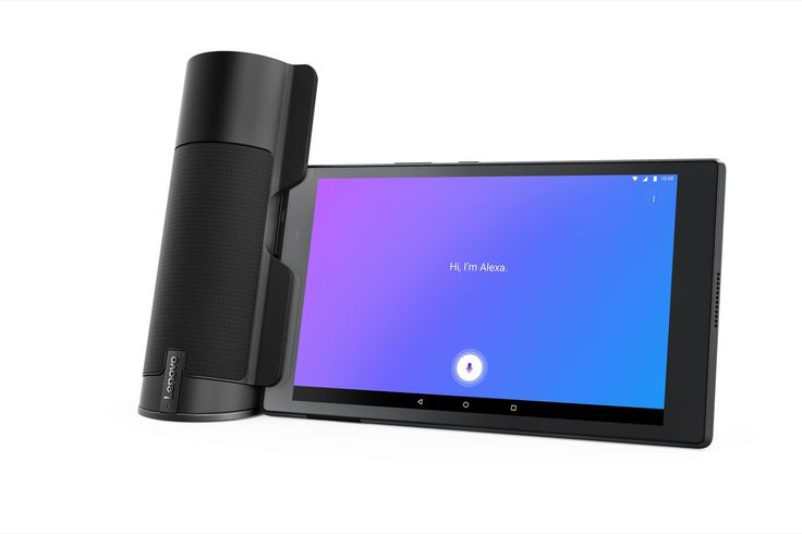 Lenovo made a weird $70 Alexa speaker that only works with its Android tablets