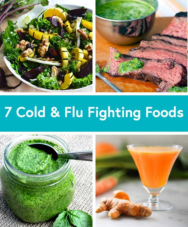Fight the cold and flu season with these healthy foods via @dailyburn