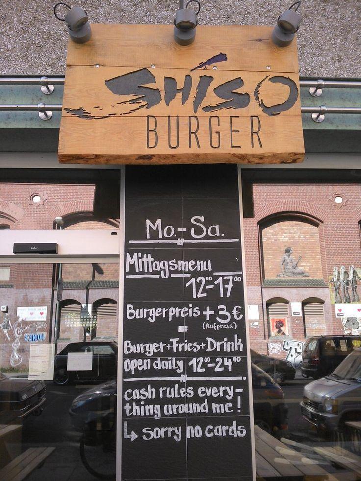 Shiso Burger // Burgers // Mitte, Berlin