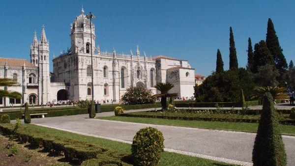 Монастырь Жеронимуш, Лиссабон, Португалия, Европа - Предоставлено: Redigo.ru