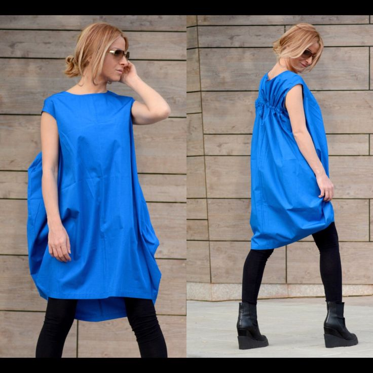 NEUEN Avant Grade Kleid / kurzes Kleid / Cocktail Kleid / Party Kleid / lose Kleid / Plus Size Kleid / übergroße Tunika Kleid / blaues Kleid von Adeptt auf Etsy https://www.etsy.com/de/listing/243966980/neuen-avant-grade-kleid-kurzes-kleid