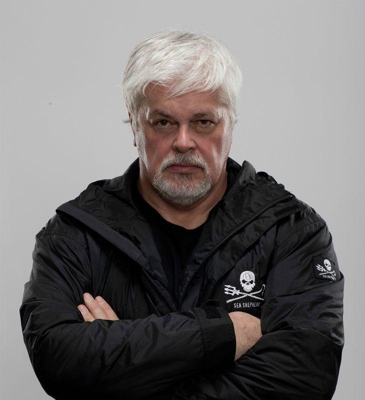 Capitaine Paul Watson : Figure de proue des Sea Sheperds.