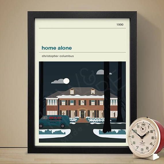Home Alone Movie Poster - Movie Poster, Movie Print, Film Poster, Film Poster.  Sizes available: A4 (8.3 x 11.7 in) A3 (11.7 x 16.5 in) A2 (16.5 x 23.4 in) A1 (23.4 x 33.1 in)  Printed on 250gsm silk paper. Digital Print. Print is ready for framing. (Frame not included)  Prints are packaged in durable tubing when shipping.  Printed colour may vary.  Thank you for taking the time to look.