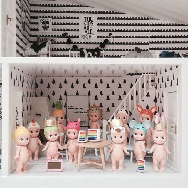 sonny angel party | lundby doll house | uberkid