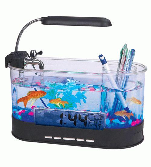 Jual USB Desktop Aquarium Mini Fish Tank with Running Water - LS0405  USB Desktop Aquarium Mini Fish Tank with Running Water - LS0405 - Transparent - 1  Aquarium dengan ukuran mini ini ditenagai hanya dengan USB. Anda dapat menghias meja kerja Anda dengan menaruh aquarium mini. Memiliki pompa air, desk lamp dan tempat alat tuli
