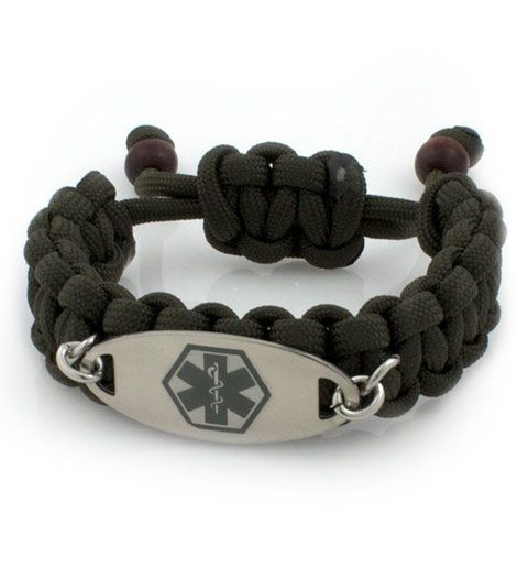 Ranger Paracord Medical Id Bracelet Health And Fitness Pinterest Braceletedical